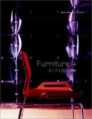 Cover of: Furniture + Architecture (Architectural Design)