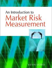 Cover of: An Introduction to Market Risk Measurement
