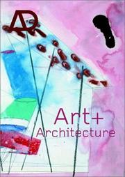 Cover of: Art and Architecture