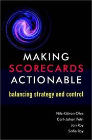 Making scorecards actionable
