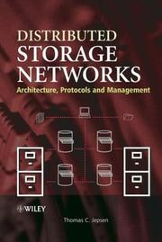 Distributed storage networks by Thomas C. Jepsen