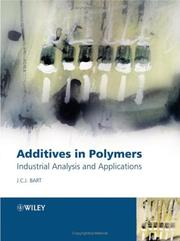 Cover of: Additives in polymers | Jan C. J. Bart