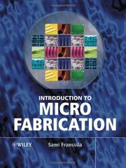 Cover of: Introduction to Microfabrication | Sami Franssila