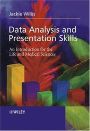 Cover of: Data Analysis and Presentation Skills | Jackie Willis