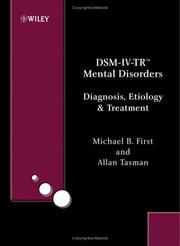 Cover of: DSM-IV-TR mental disorders