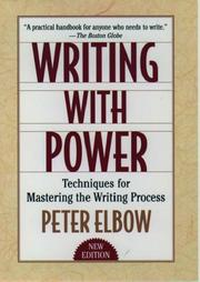 Cover of: Writing with power | Peter Elbow