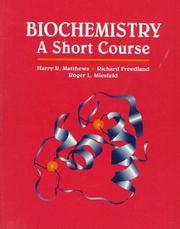 Cover of: Biochemistry