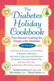 Cover of: The diabetes holiday cookbook