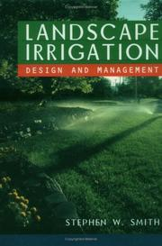 Cover of: Landscape irrigation | S. W. Smith