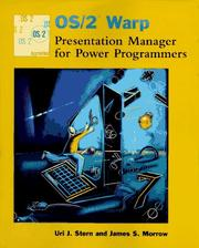 Cover of: OS/2 Warp Presentation Manager for power programmers