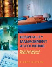 Cover of: Hospitality Management Accounting | Martin G. Jagels