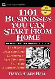 Cover of: 1101 Businesses You Can Start From Home, Revised and Expanded Edition