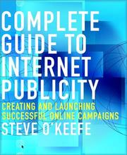 Cover of: Complete Guide to Internet Publicity