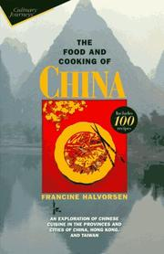 Cover of: The food and cooking of China