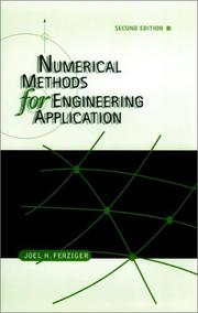 Cover of: Numerical methods for engineering application