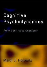 Cover of: Cognitive psychodynamics