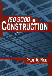 Cover of: ISO 9000 in construction