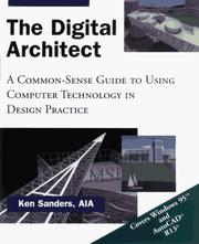 Cover of: The Digital Architect