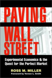 Cover of: Paving Wall Street  | Ross M. Miller