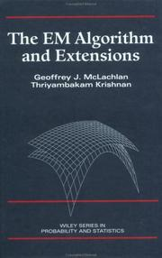 Cover of: The EM algorithm and extensions