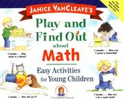 Cover of: Janice VanCleave's play and find out about math