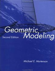 Cover of: Geometric modeling