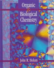 Fundamentals of general, organic, and biological chemistry by John R. Holum