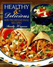 Cover of: Healthy and delicious