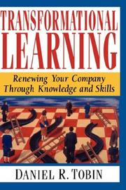 Cover of: Transformational learning | Tobin, Daniel R.