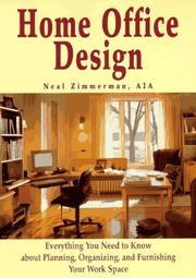 Cover of: Home office design
