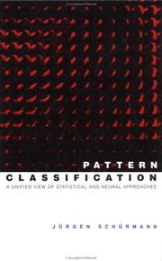 Cover of: Pattern Classification | Jürgen Schürmann