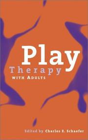 Cover of: Play Therapy with Adults