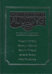 Auditing by Robert Hiester Montgomery, Vincent M. O'Reilly
