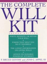 Cover of: The complete will kit