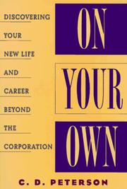 Cover of: On your own