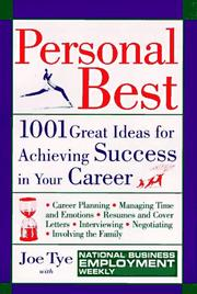 Cover of: Personal Best | National Business Employment Weekly