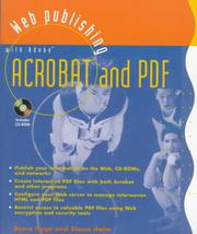 Cover of: Web publishing with Adobe Acrobat and PDF