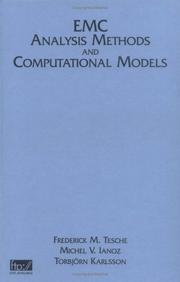 Cover of: EMC analysis methods and computational models