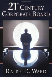 Cover of: 21st century corporate board