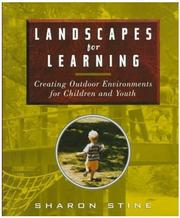 Cover of: Landscapes for Learning