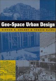 Cover of: Geo-Space Urban Design | Gideon Golany