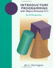 Cover of: Introductory programming with object-oriented C++: an IS perspective