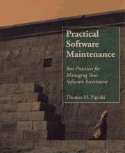 Cover of: Practical software maintenance