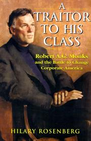Cover of: A Traitor to His Class