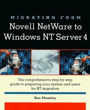 Cover of: Migrating from Novell NetWare to Windows NT Server 4