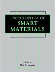Cover of: Encyclopedia of Smart Materials Set