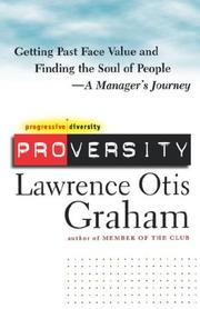 Cover of: Proversity