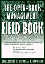 Cover of: The Open-Book Management Field Book | John P. Schuster