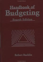 Cover of: Handbook of budgeting |