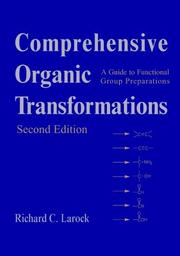 Cover of: Comprehensive organic transformations